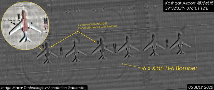 ચીને લદ્દાખ સરહદે પરમાણુ શસ્ત્રોયુક્ત બોમ્બર વિમાનો ખડક્યા