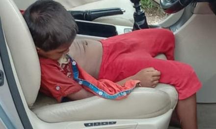 અમદાવાદ એરપોર્ટ નજીકનો બનાવ પાર્ક કરેલી કારમાંથી બાળકની લાશ મળી : ગૂંગળામણથી મોતની શકયતા