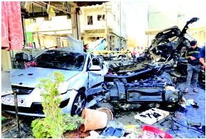 તુર્કીની સરહદ નજીક સીરિયન બળવાખોર સંચાલિત બે વિસ્ફોટોમાં સાત લોકોનાં મોત