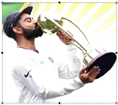 કોહલીની 'વિરાટ' સિદ્ધિ : ICC, ટેસ્ટ અને વન-ડે ક્રિકેટર ઓફ ધ યર બન્યો