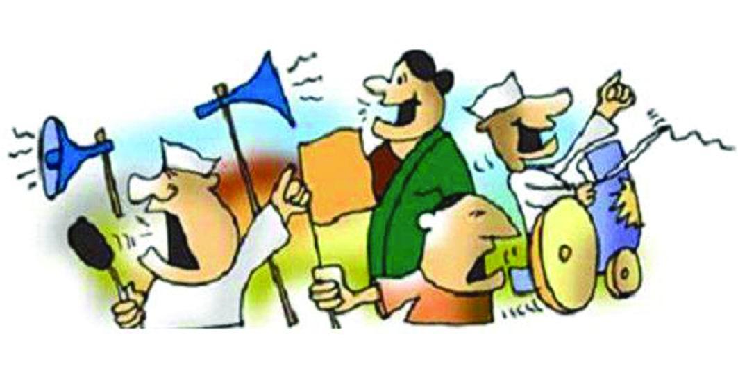 ગુજરાતમાં લોકસભાની ર૬ અને વિધાનસભાની ચાર બેઠકો માટે આજે સાંજે પ્રચાર પડઘમ શાંત
