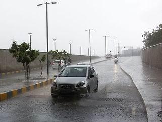 રાજ્યના સૌરાષ્ટ્ર અને ઉત્તર ગુજરાતના અનેક ઠેકાણે ઝાપટાંથી પ ઈંચ વરસાદ