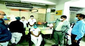 અમદાવાદ સિવિલ હોસ્પિટલના ૨૫ હેલ્થકેર વર્કરો પર કોરોના વેક્સિનેશનની ડ્રાય રન યોજાઈ