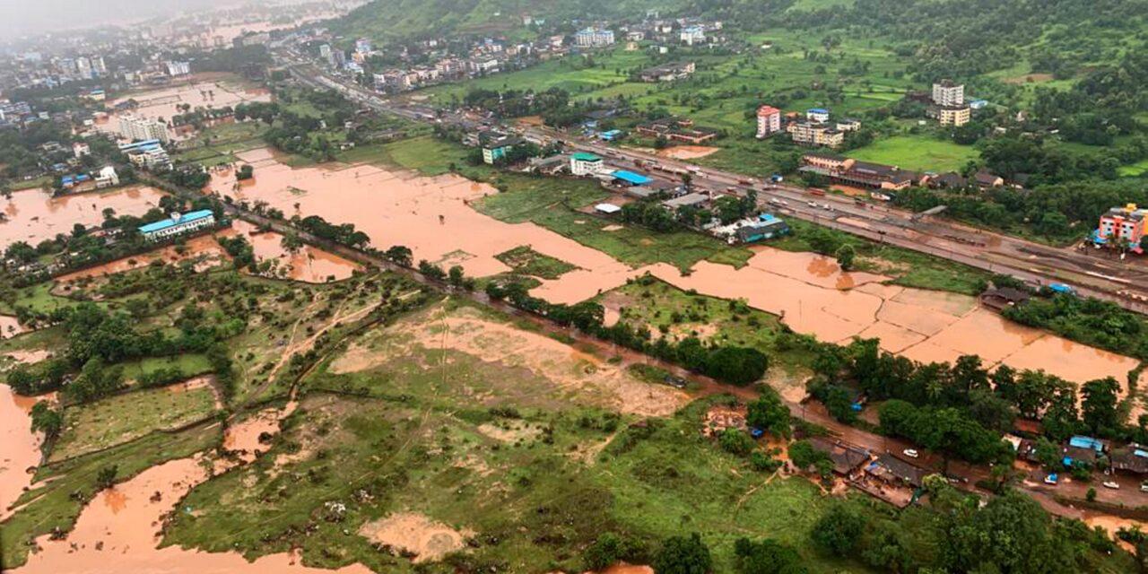 મહારાષ્ટ્રમાં વરસાદી આફતમાં બે દિવસમાં ૧૩૬નાં મોત